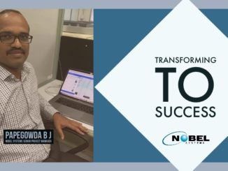 Transforming to Success: Nobel Systems' Senior Project Manager Papegowda B J