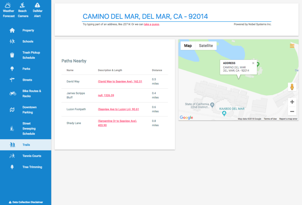 Public GeoViewer by Nobel Systems is smart mapping for the public
