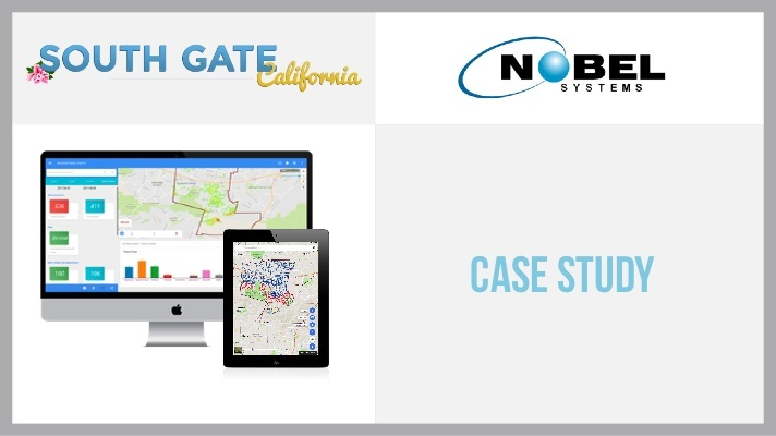 Nobel Systems Case Study: City of South Gate Public Works Department