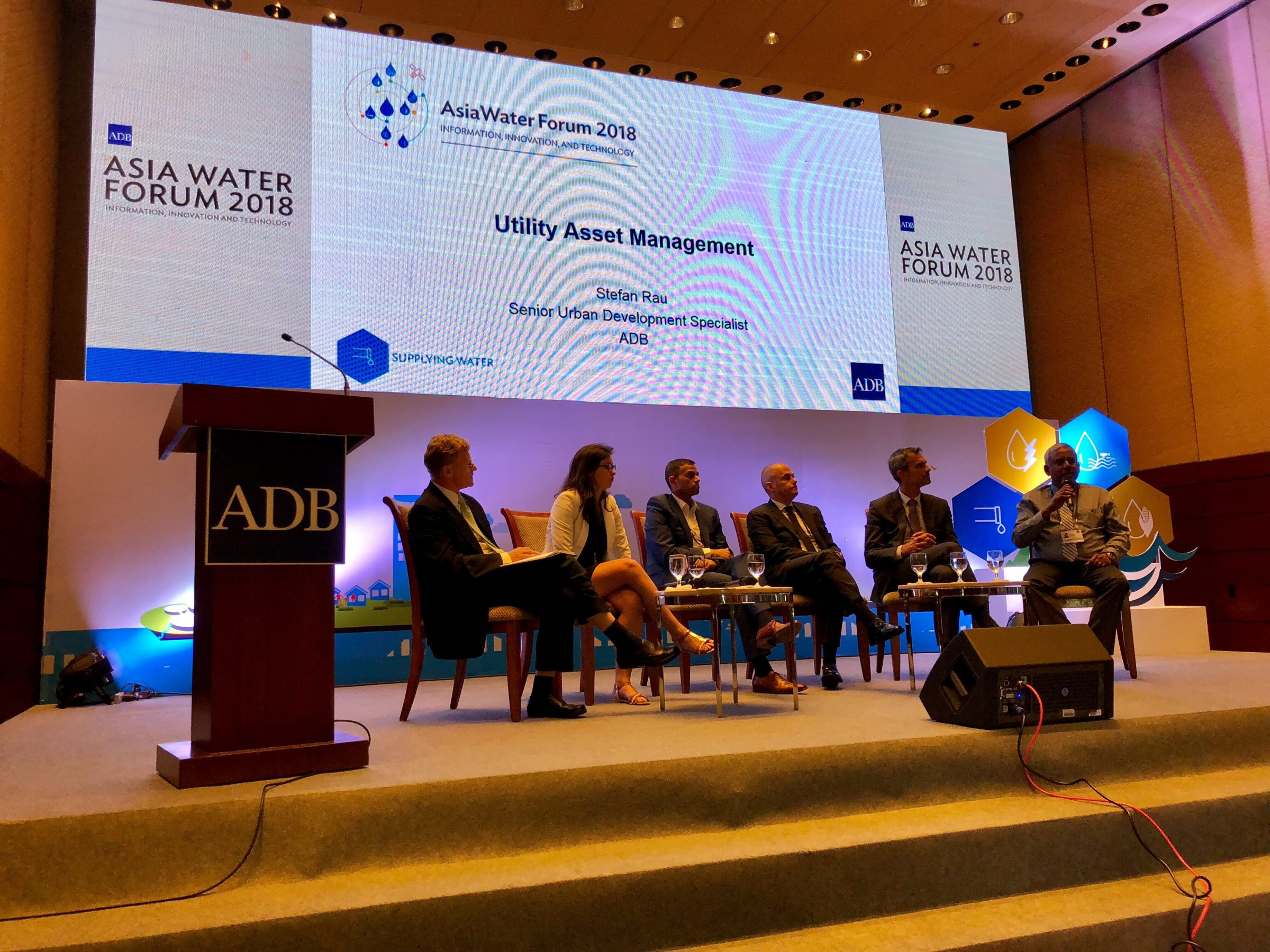 GIS for water utility asset management, Asia Water Forum, Nobel Systems