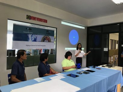 University and High School Students in the Philippines Learn About GIS and Geography