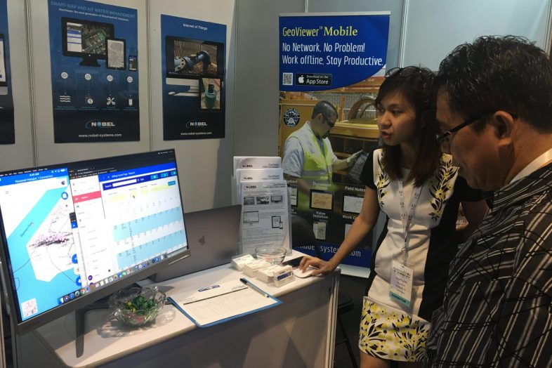 Nobel Systems Talks GIS Water Management at Philippine Water Expo