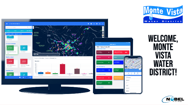 Monte Vista Water Contracts Nobel Systems' GeoViewer, a GIS-Based Utility Software System