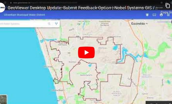 GeoViewer Update: New Customer Feedback System [video]